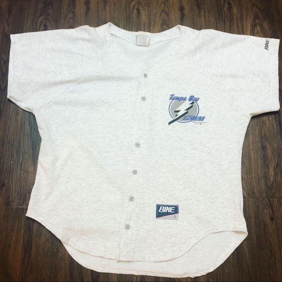 new product 749e6 2a4d3 1991 Tampa Bay Lightning baseball style jersey